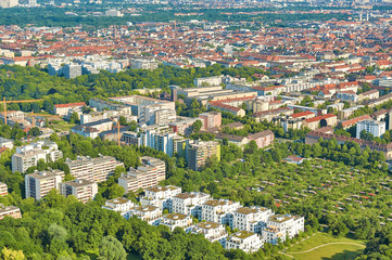 Aerial Shot of Munich