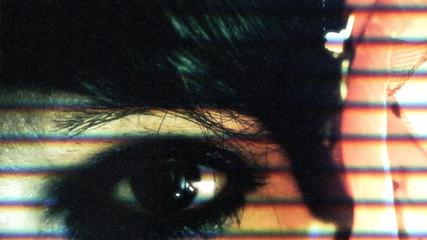 Eye macro woman vintage film