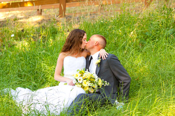 Wedding Couple Bride and Groom Portraits
