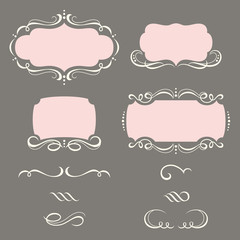 Decorative Frames and Ornaments