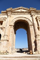 The Arch of Hadrian, Jerash