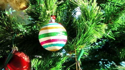 Christmas Tree, Baubles and Decorations