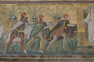 Magi mosaic, Sant'apolinare nuovo, Ravenna
