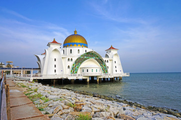 The Malacca Straits Mosque