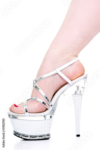 High Heels and Feet Poster
