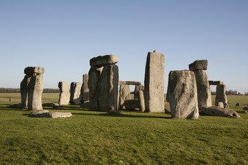 Stonehenge historic site in Wiltshire England UK