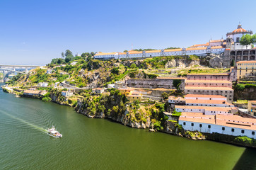Douro river and wine cellars of Porto, Portugal