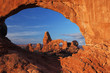 Turrent Arch in Arches National Park