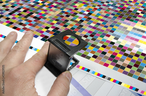 Press color management loupe control