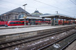 Central railway station in Nuremberg, Germany. - 59830129