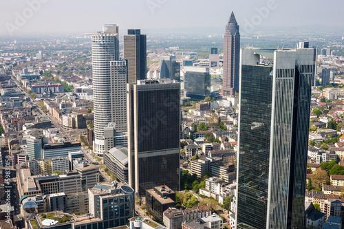 Foto op Aluminium New York Skyline of Frankfurt, Germany