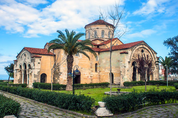 The church of Hagia Sophia in Trabzon, Turkey.