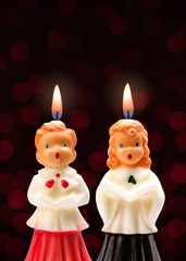 Choir Boy and Girl Candles