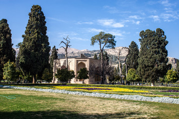 Jahan Nama garden in Shiraz, Iran