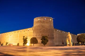 Karim Khan citadel in Shiraz, Iran.
