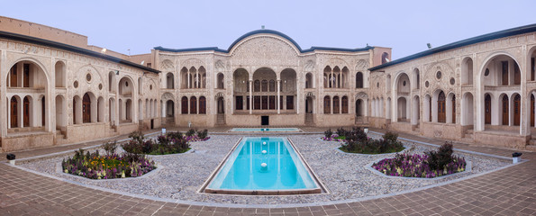Tabatabei historic house in Kashan, Iran