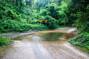 Ford crossing in northern Thailand