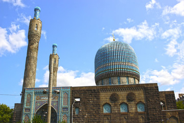 Central Muslim mosque in St. Petersburg