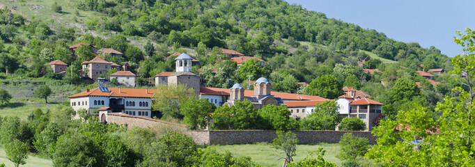 Monastery and church complex Lesnovo, Macedonia