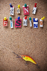 Message gonne fishin