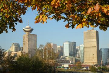 Vancouver Autumn Skyline