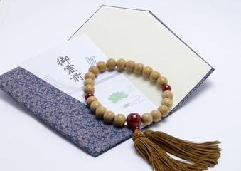 袱紗と数珠