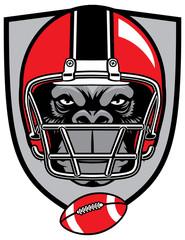 ape football mascot
