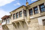 Abandoned derelict traditional houses at Old Bazaar Skopje poster