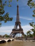 Fototapeta Paris - Wieża Eiffla © lukaszskop