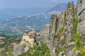 Meteora Monasteries, Greece. UNESCO
