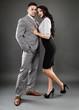 Boss and secretary couple