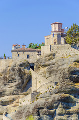 The Holy Monastery of Rousanou /St. Barbara Meteora, Greece