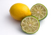 lemon and two limes