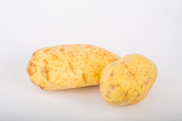 Two Yukon Gold Potatoes