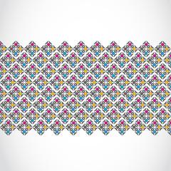 vintage seamless pattern banner