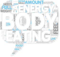 Concept of How To Lose Weight By Eating For Energy