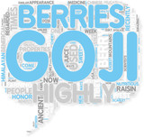 Concept of All About The Goji Berry