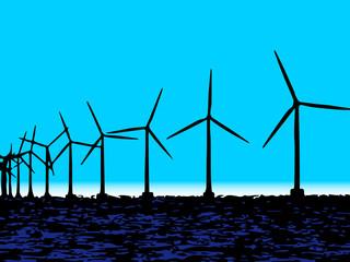 Centrale eolica nel mare