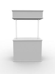 Blank stand
