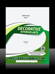 Interior Design Flyer Design
