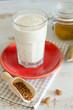 Leinsamen, Jogurtdrink, milch