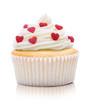 Cupcake mit Herzchen
