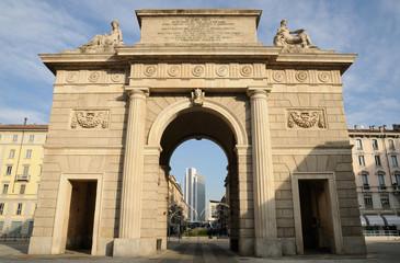 Garibaldi gate, Milan
