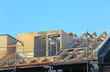 Dachgebälk auf Neubau