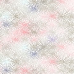 Seamless vector pattern - delicate pink design