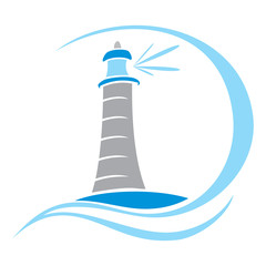 Lighthouse symbol