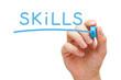 Skills Blue Marker