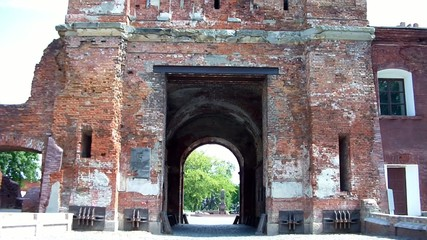 Terespol gate at the Brest Fortress in Brest