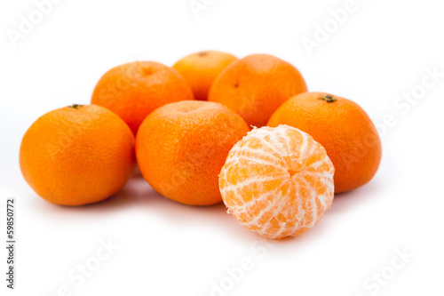 ripe fruit tangerines