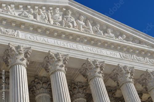 Leinwandbild Motiv Supreme Court of the United States